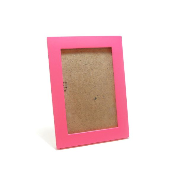 4R粉紅色木相架