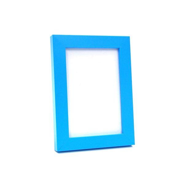 4R藍色木相架