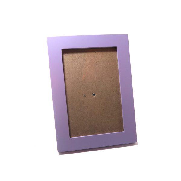 4R紫色木相架