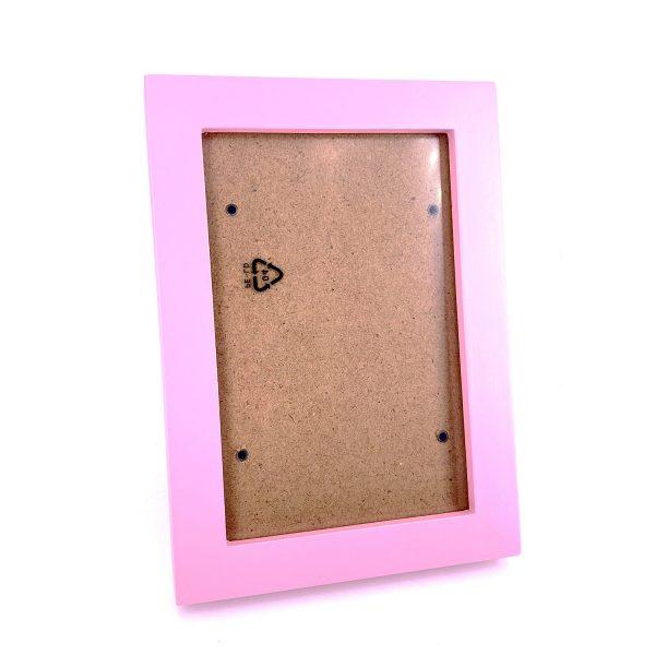 4R淺粉紅木相架