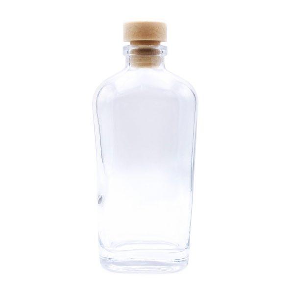 木塞直身玻璃瓶3CM闊X8CM高