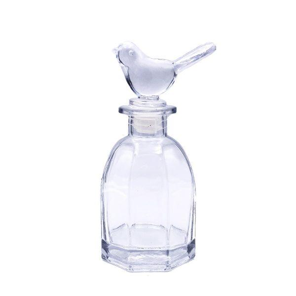 浮游花雀仔瓶蓋玻璃瓶
