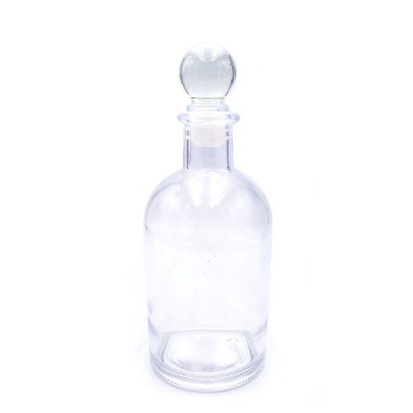 浮游花圓球蓋玻璃瓶