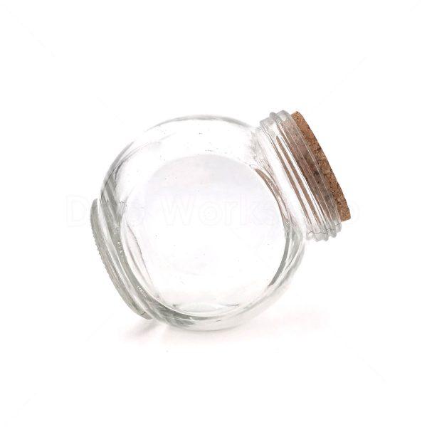 木塞扁鼓玻璃瓶