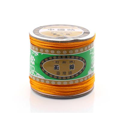 台灣莉斯牌玉線中國結6號線-橙色