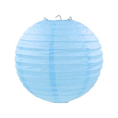 藍色紙燈籠20CM
