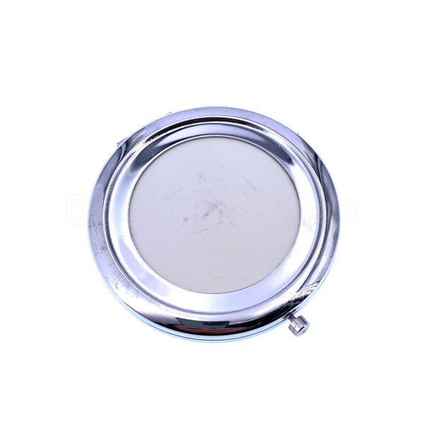 銀色單面金屬化妝鏡