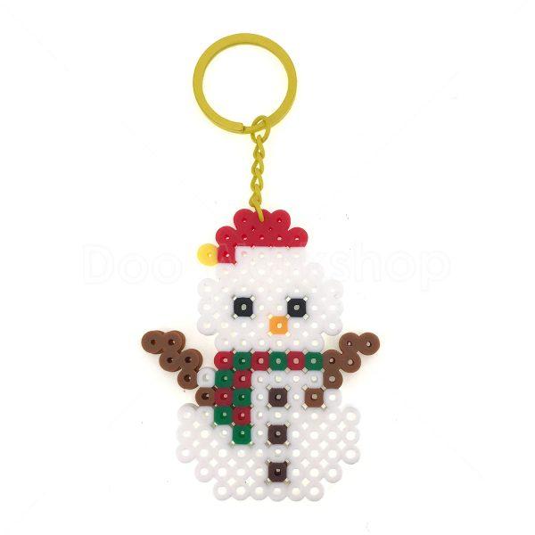 聖誕雪人拼豆DIY材料包