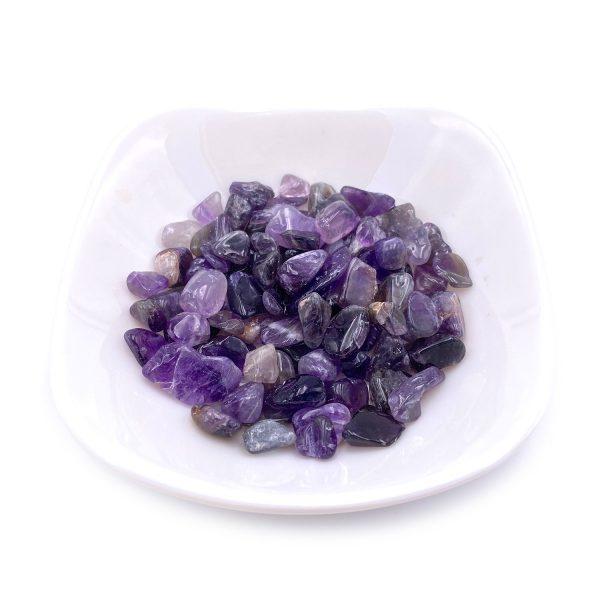 天然紫水晶碎石