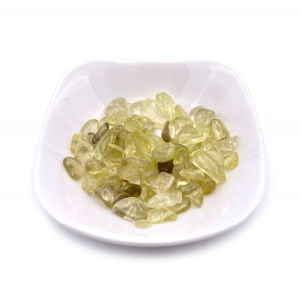 天然黃水晶碎石