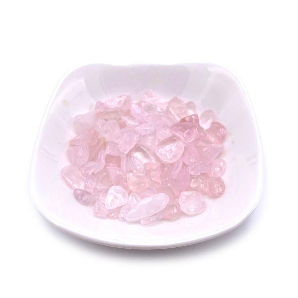 天然粉水晶碎石