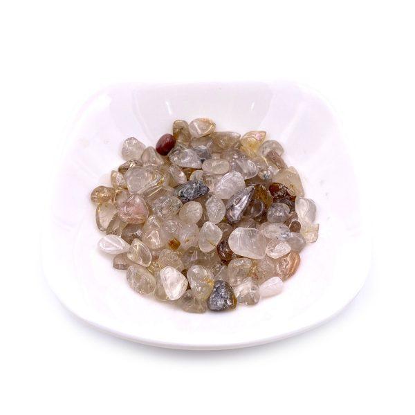 天然金髮晶碎石