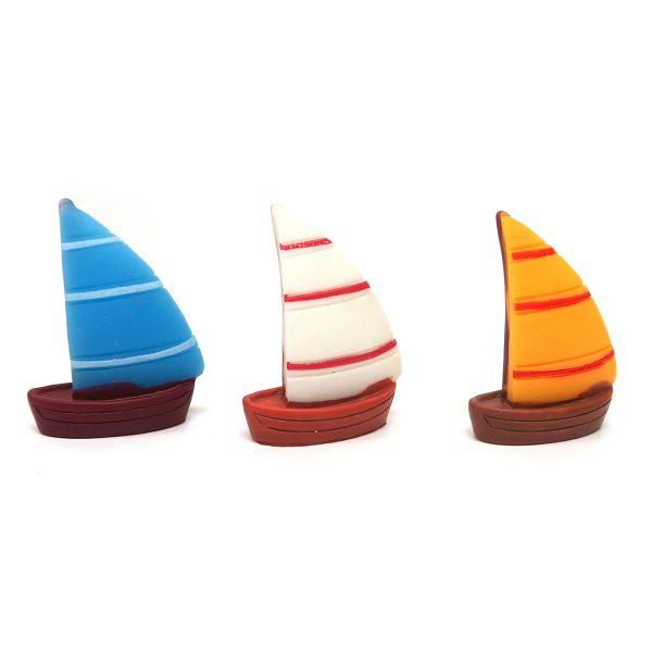 橫紋小船樹脂擺件