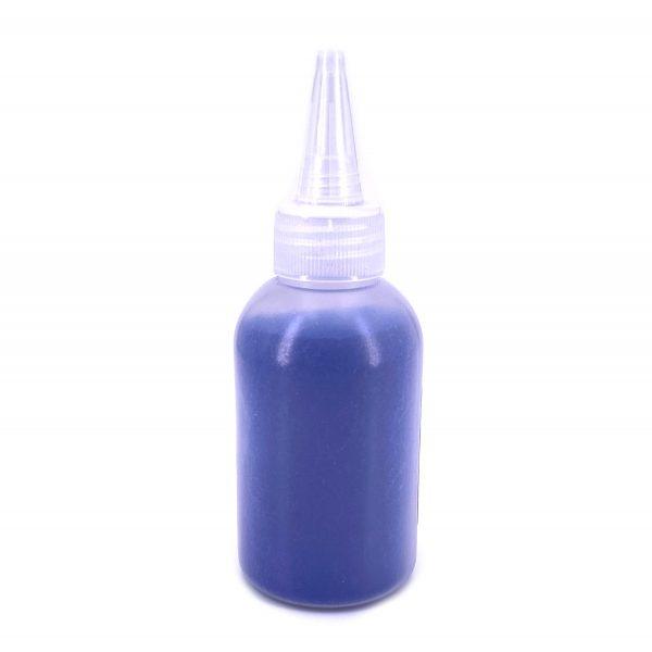 深藍色彩沙