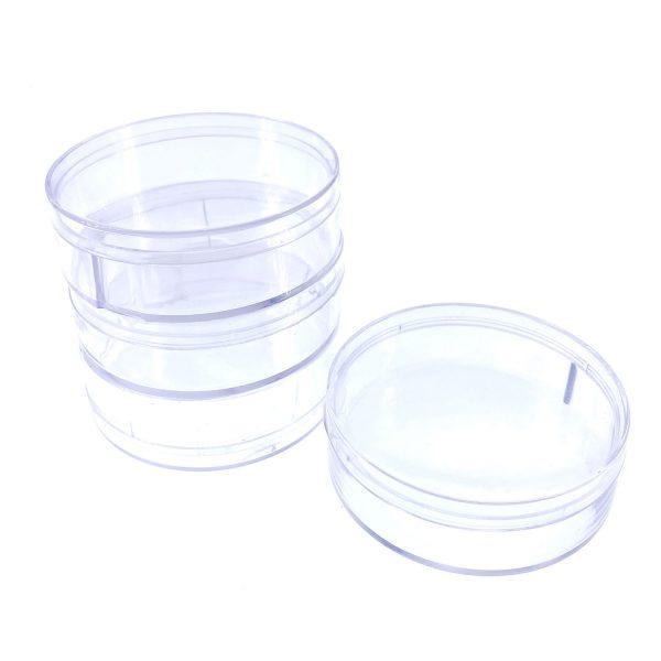 圓型塑膠盒