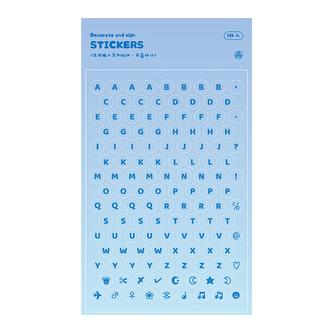 熨金英文字母貼紙1