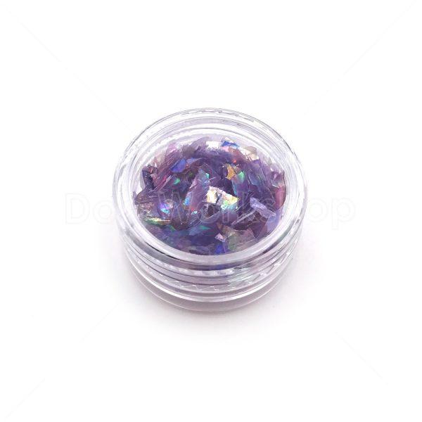 紫色貝殼紙
