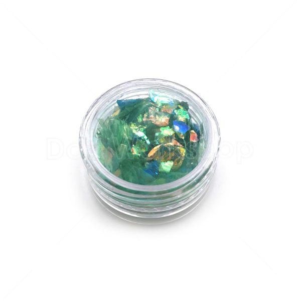 深綠色貝殼紙