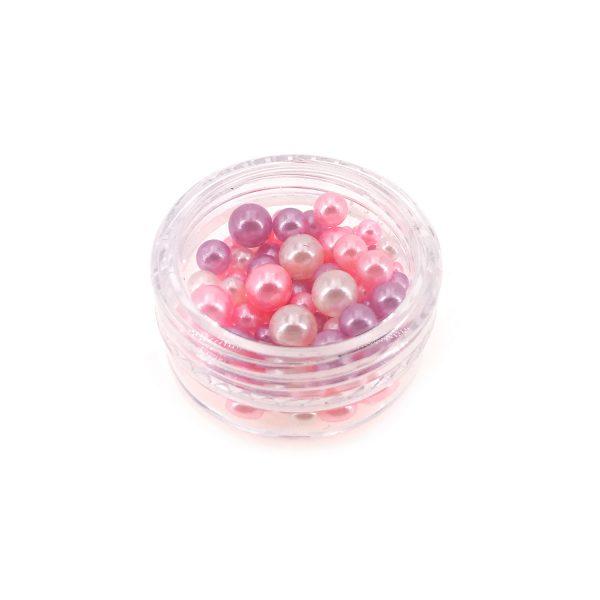混粉色仿珍珠