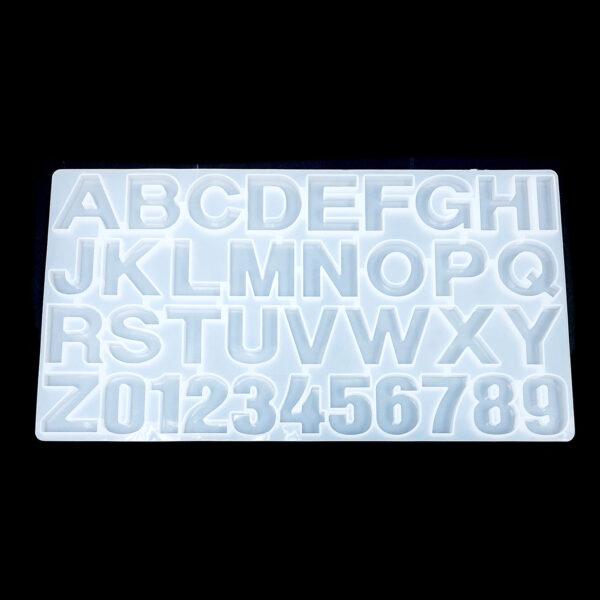 英文字母矽膠模具