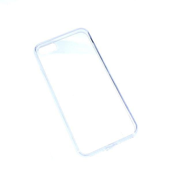 iPhone 7/8透明硬底軟邊凹槽滴膠電話殼