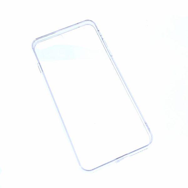 iPhone 7 Plus/8 Plus透明硬底軟邊凹槽滴膠電話殼