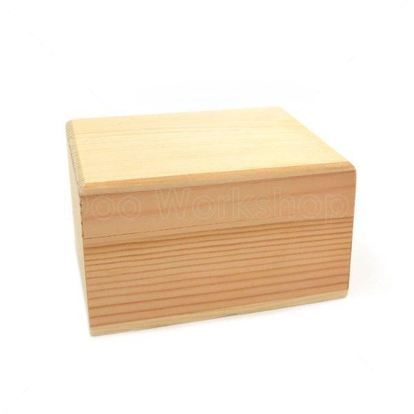 天地蓋木盒