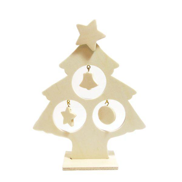 木製聖誕樹