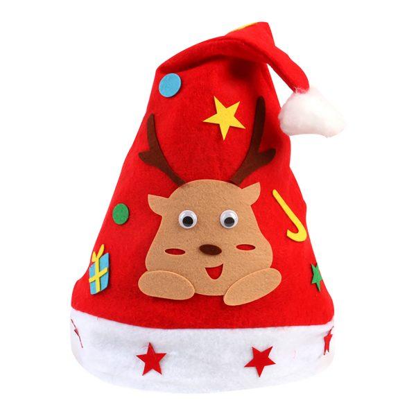 【預訂】聖誕帽DIY材料包-聖誕鹿2