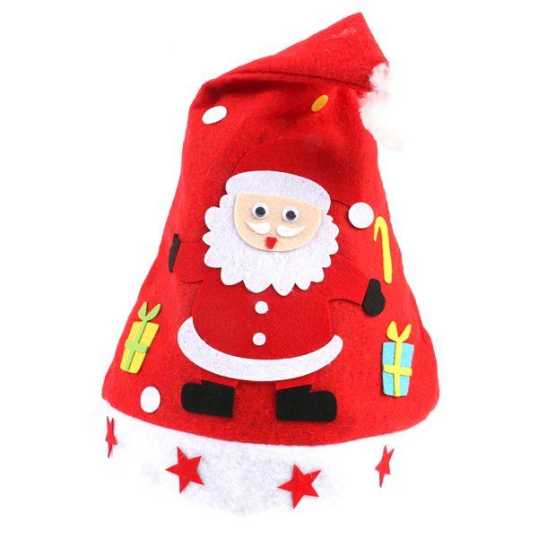 【預訂】聖誕帽DIY材料包-聖誕老人2