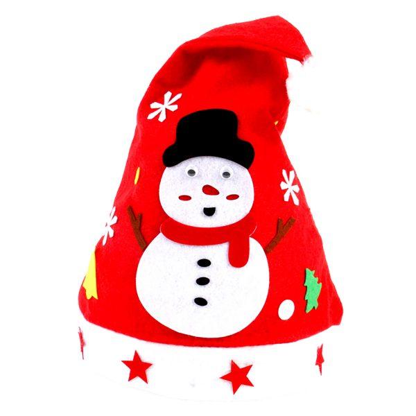 【預訂】聖誕帽DIY材料包-雪人
