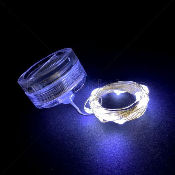 LED防水燈串-冷白2米20燈