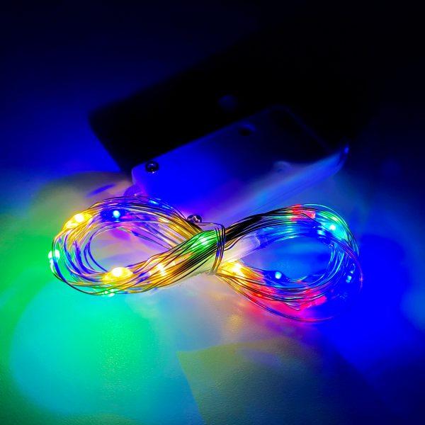 led燈串-彩色2米20燈