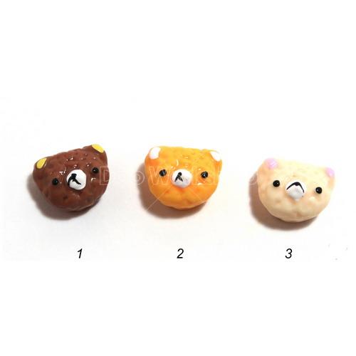 熊仔頭樹脂裝飾