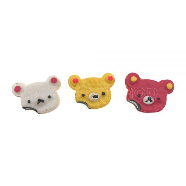 熊仔頭樹脂裝飾2