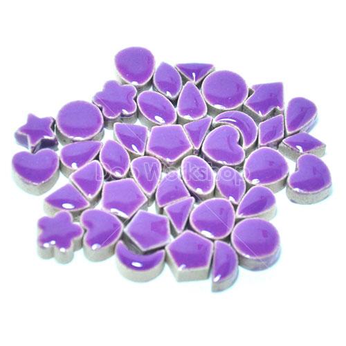 紫色造型陶瓷馬賽克10X10MM
