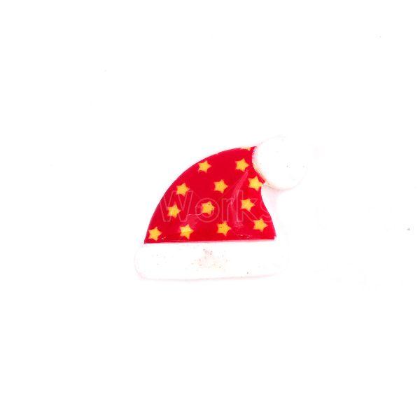 聖誕帽樹脂裝飾3