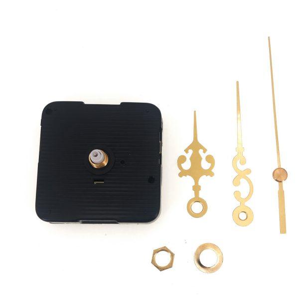 DIY時鐘掃描機芯-金色秒針100mm 分針75mm 時針55mm