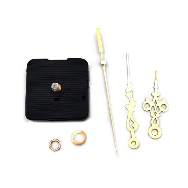 DIY時鐘掃描機芯-金色秒針125mm 分針90mm 時針65mm