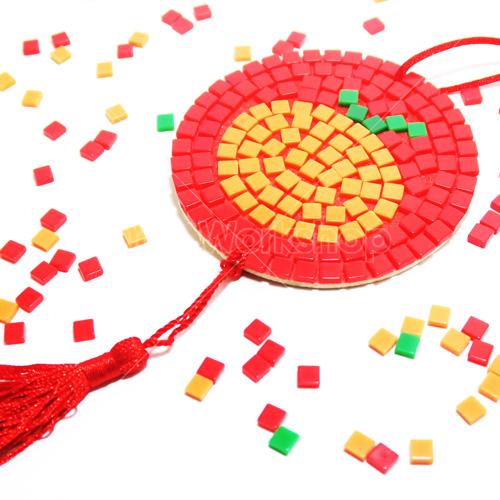 新年大吉馬賽克掛飾DIY材料包