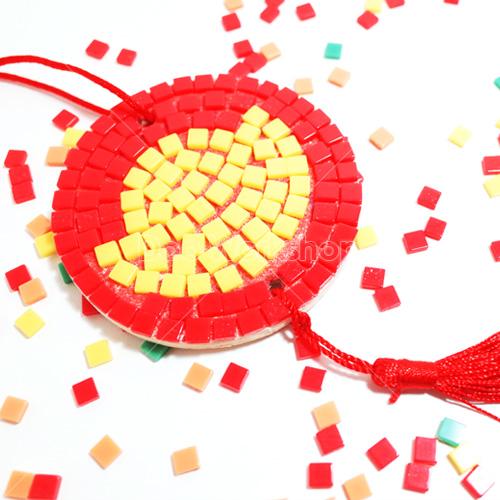 新年金元寶馬賽克掛飾DIY材料包