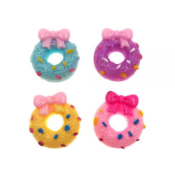 蝴蝶結甜甜圈樹脂裝飾