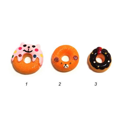 甜甜圈樹脂裝飾