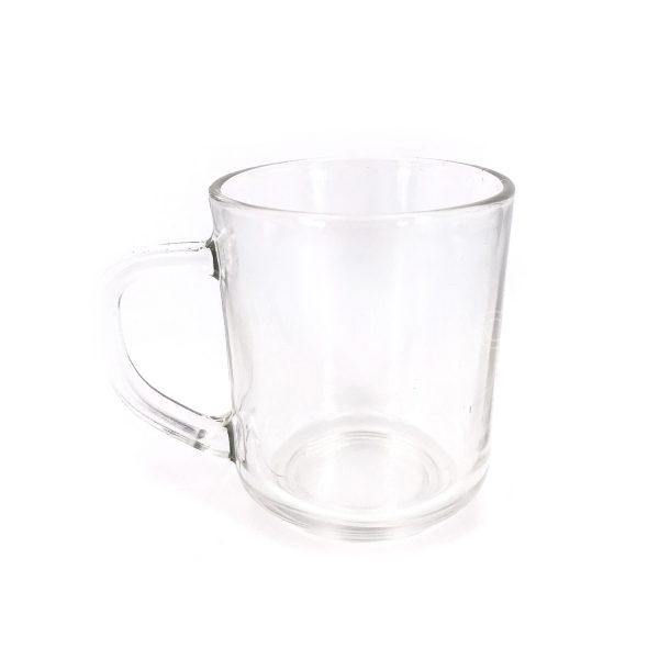 有耳玻璃杯