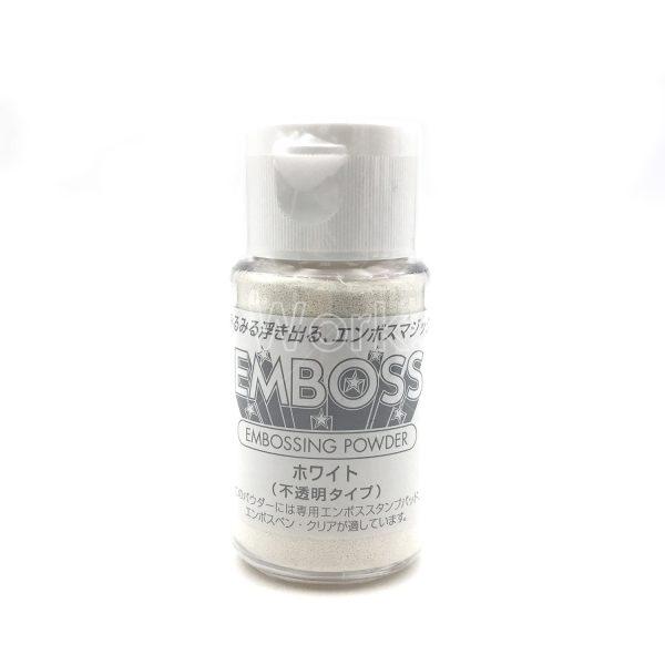 白色浮雕粉/熨金粉/凸粉