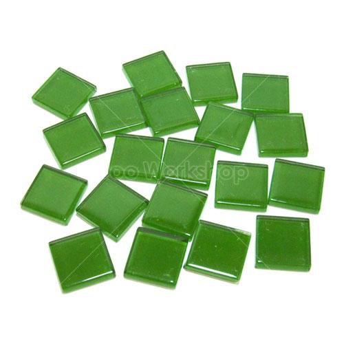 綠色正方形水晶馬賽克10MM/20MM