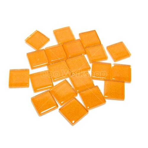 橙色正方水晶馬賽克10MM/20MM
