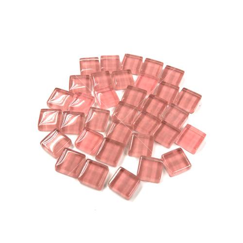 粉紅色正方水晶馬賽克10MM