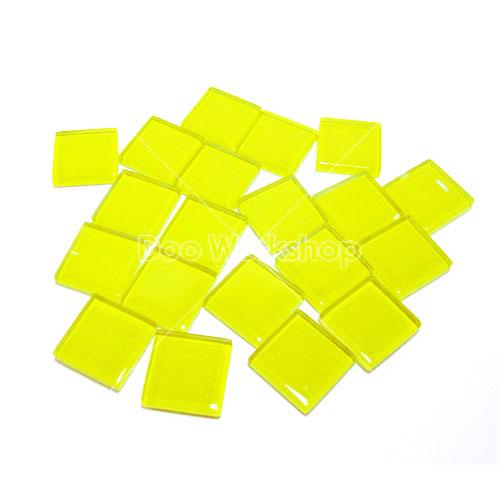 黃色正方水晶馬賽克10MM/20MM