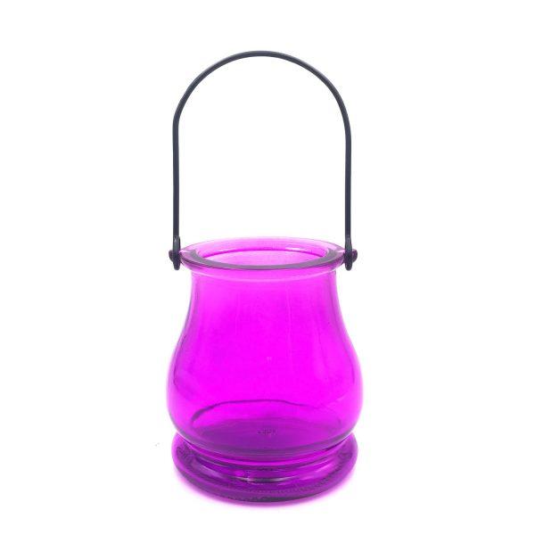 紫色燈籠玻璃吊瓶